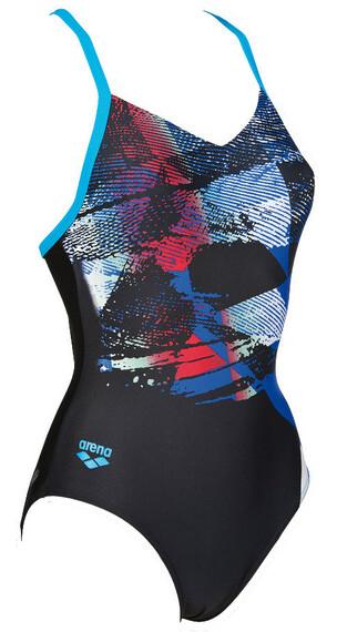 arena Motiv One Piece B Swimsuit Women black/turquoise